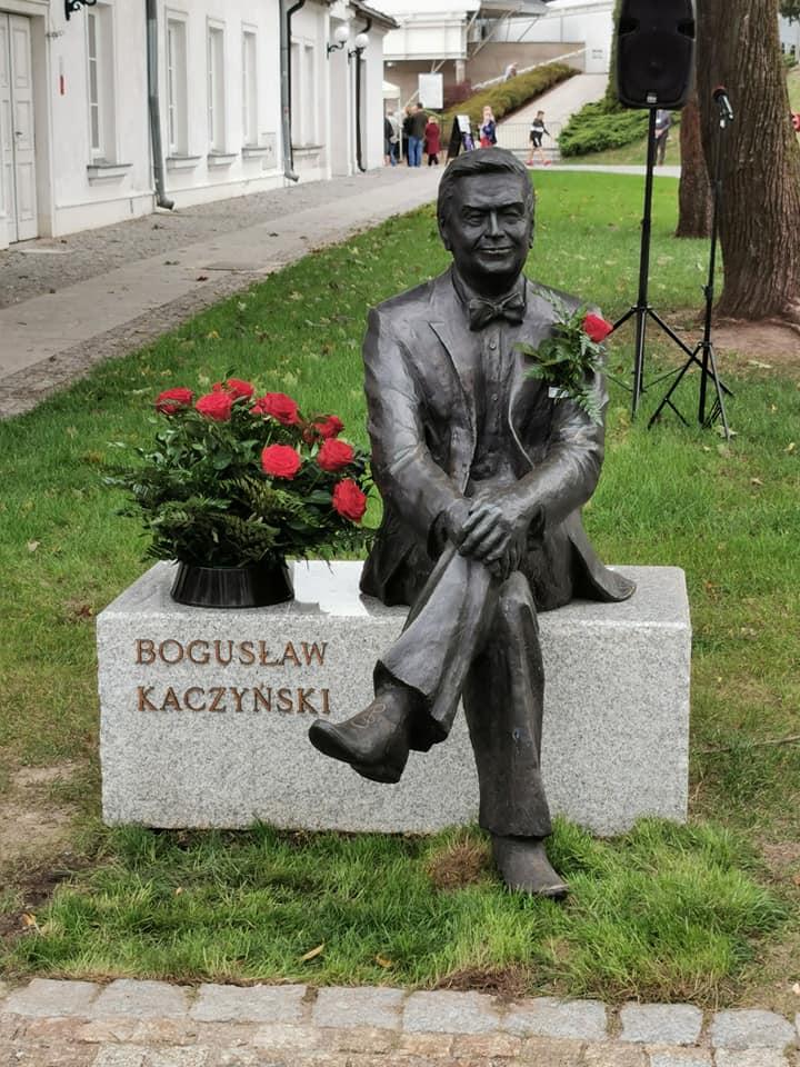 Otwarcie ławeczki Bogusława Kaczyńskiego